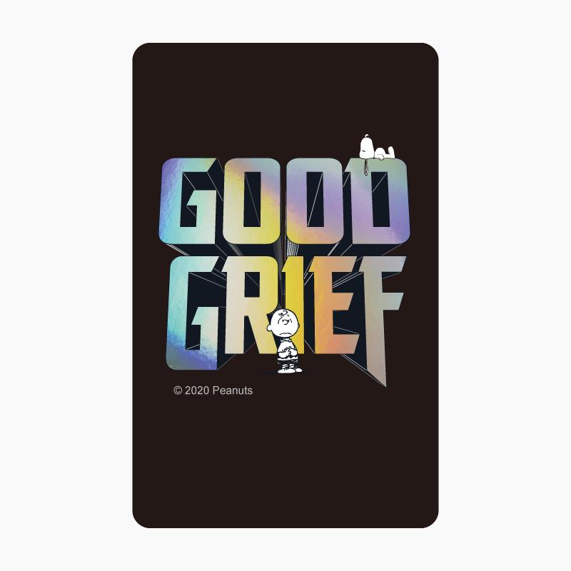 SNOOPY《Good Grief》一卡通