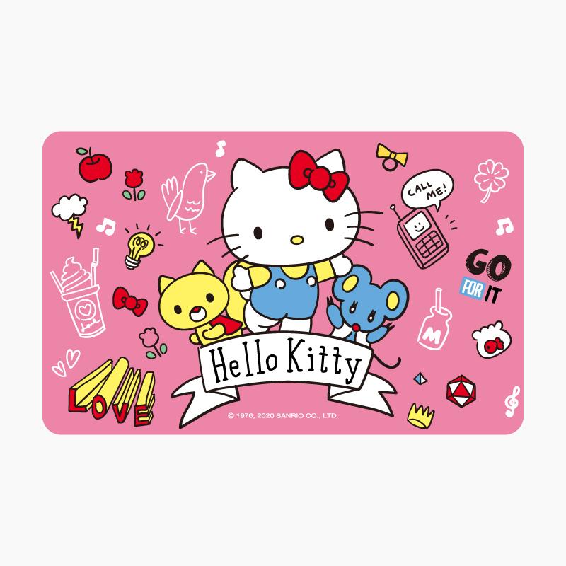 Hello Kitty《Call me》一卡通