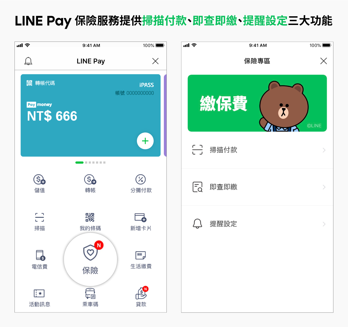 圖2_LINE Pay、一卡通攜手富邦產險 繳保費用LINE Pay Money輕鬆搞定