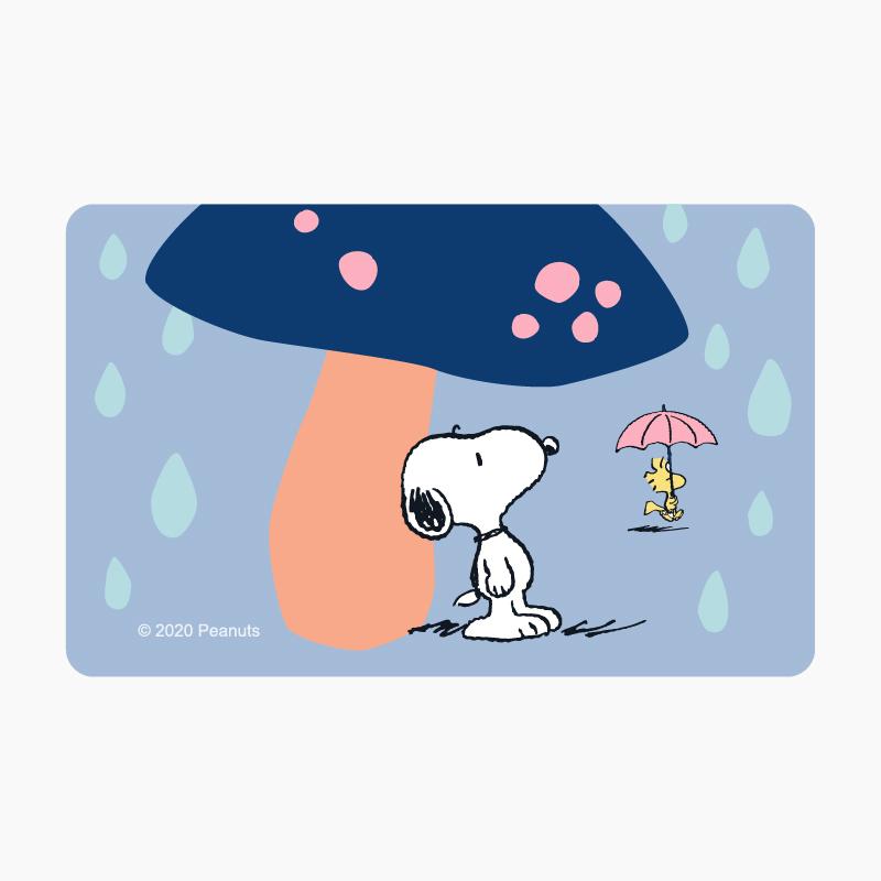 SNOOPY《時雨》一卡通