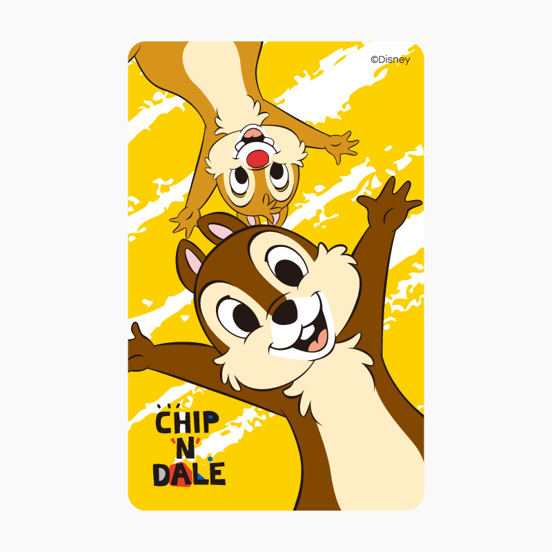 Chip 'n' Dale《FUN》一卡通
