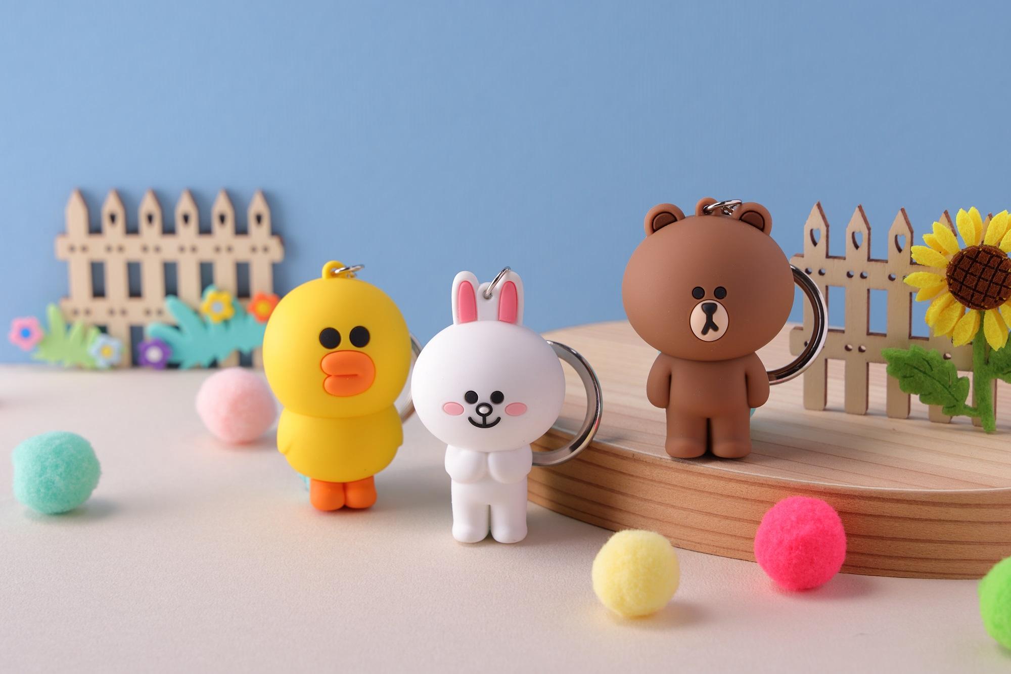 圖3_Q萌熊大、兔兔及莎莉3D立體一卡通陪你趴趴走 9月14日預購開搶