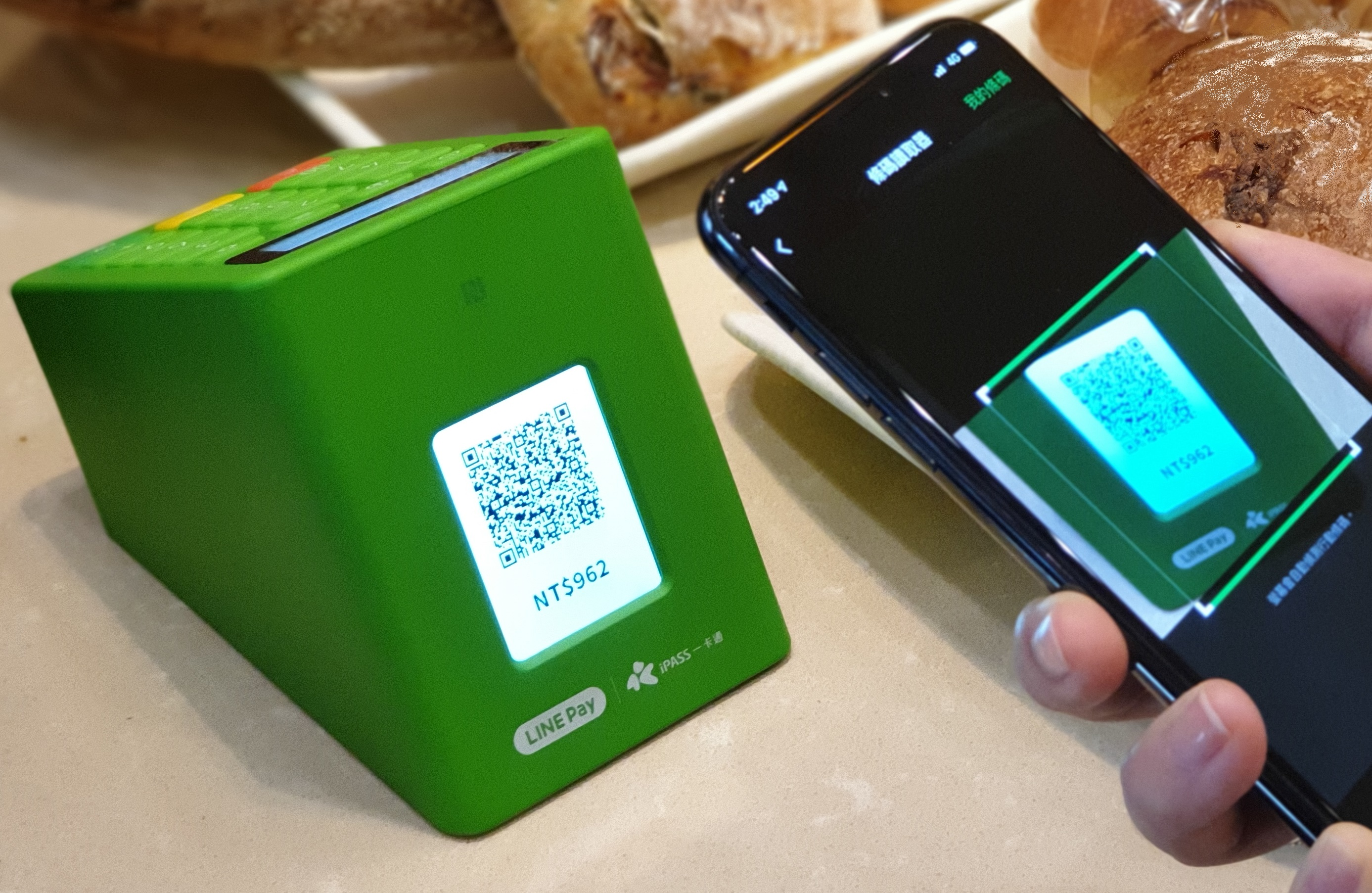 圖2_高雄逛商圈享美食 用LINE Pay Money享8%點數回饋